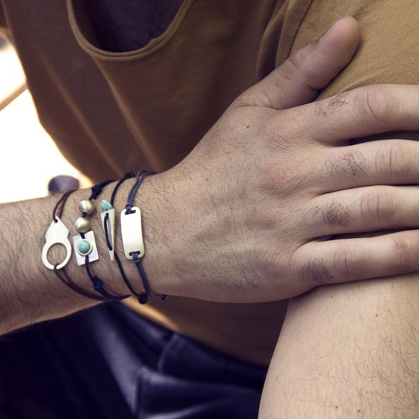 bracelets homme argent ana-h fabrication artisanale france marseille