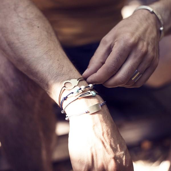bracelet et bague homme