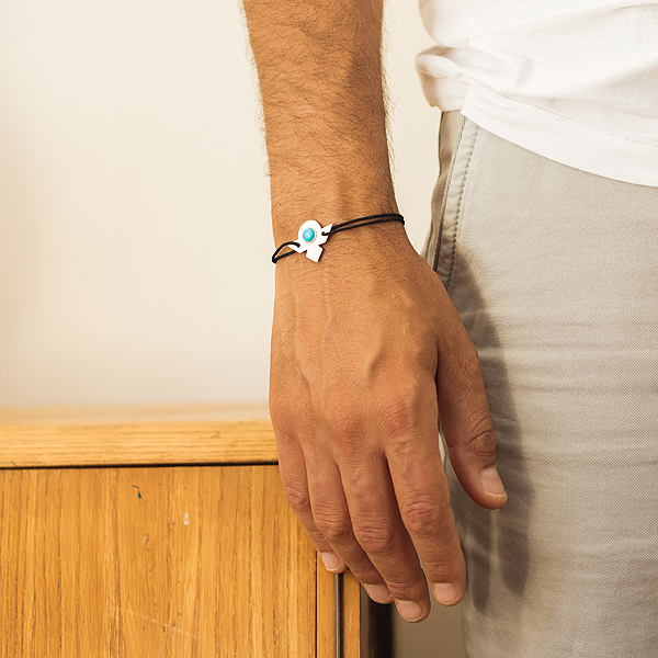 Bracelet Sight Homme or argent collection Instant.17 fabrication artisanale fabrication française